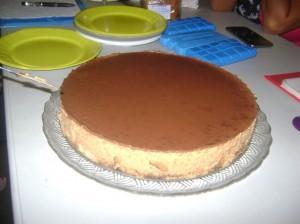 Le magnifique gâteau de Patricia